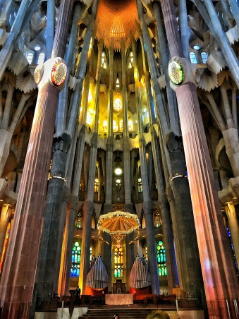 Sagrada Christ centered
