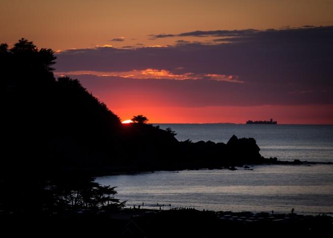 Spring Equinox Sunset